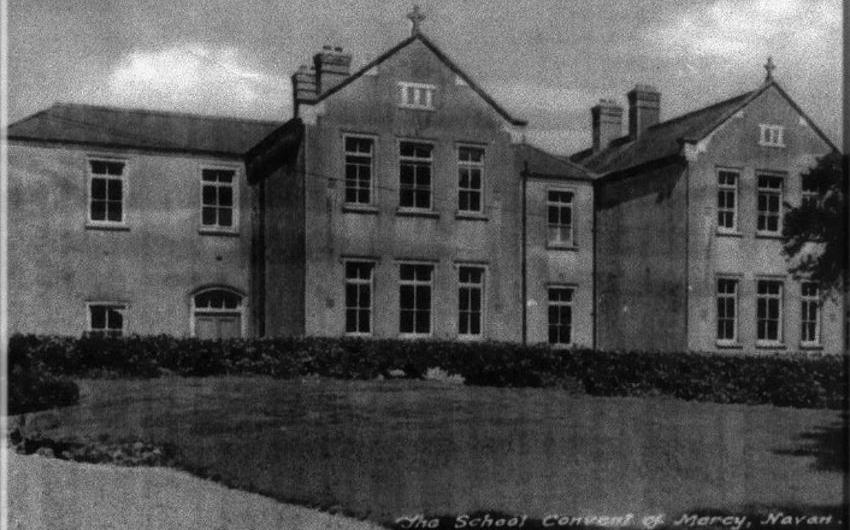 Old photo of St Joseph's Mercy Primary School Navan