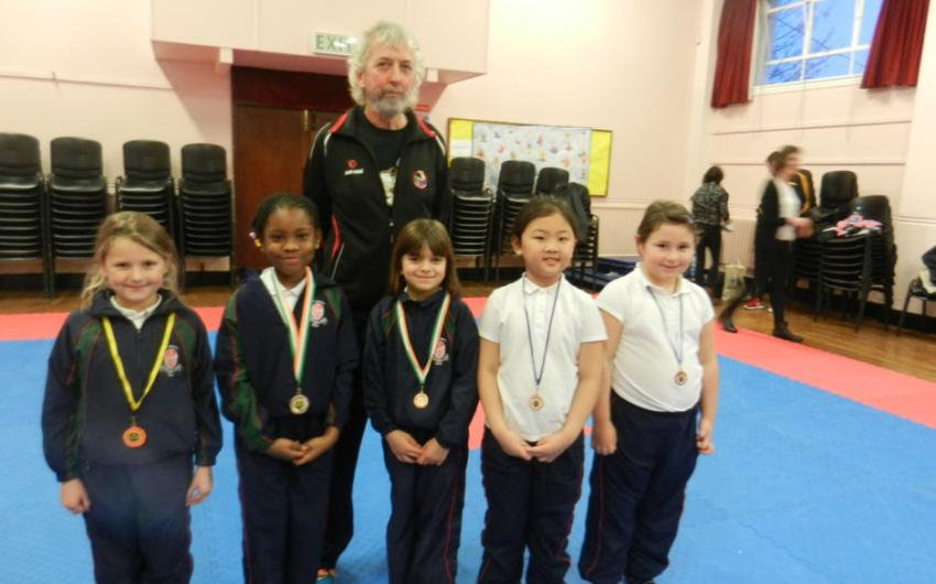 Second Class Christmas Karate Competition - photo 1