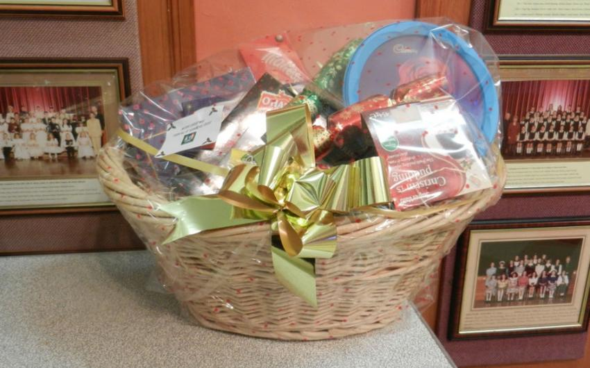 A hamper of sweets