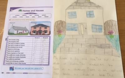 Zuzanna from room 3 has been learning about Houses and Homes
