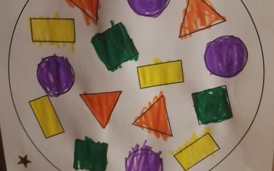 Colouring Shapes by Kadie (room 1)