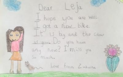 Letter written by Zuzanna (room 3)