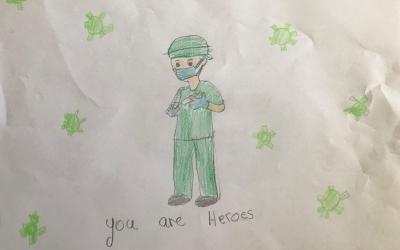 Lian from room 12 pays tribute to our wonderful hospital staff