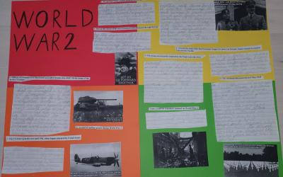 Domas from room 35 did this project on World War 2