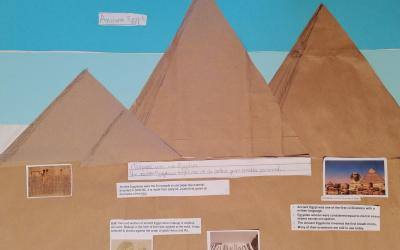 Eduards from room 14 did this project on Egypt
