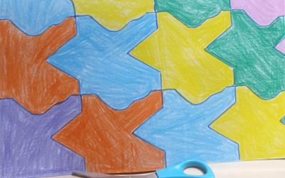 Tessellation work by Alessandra in room 10