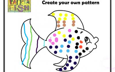 George from room 3A made this Pattern Fish