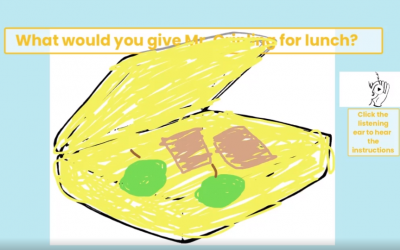 'Lunch for Mr. Grinling' by Kai from room 5