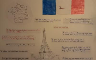 Project on France by Ola in room 21