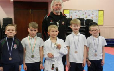 Second Class Christmas Karate Competition - photo 2