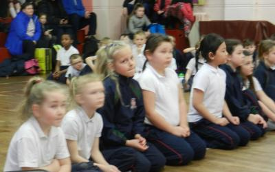 Second Class Christmas Karate Competition - photo 3