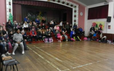 Second Class Christmas Karate Competition - photo 5